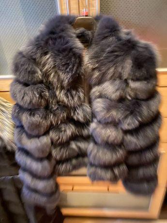 Палто от норвежка лисица размер S