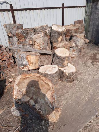Продам дрова чурками и мешками