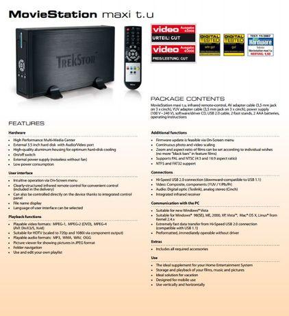 Traxtar MovieStation maxi t.u 320GB