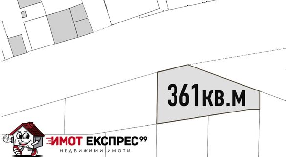 Парцел за жилищно строителство, 361кв.м, кв.Баделема