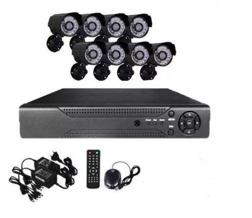 """HD фабричен пакет с 8 камери """"CCTV"""" Комплект за видеонаблюдение"""