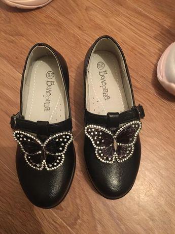 Туфли для девочек 18 см