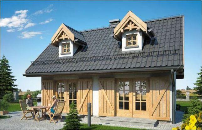 Kit casă lemn 73 mp