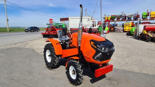 Tractor Kentavr 22 CP 4x2 cu freza 120 cm si plug incluse