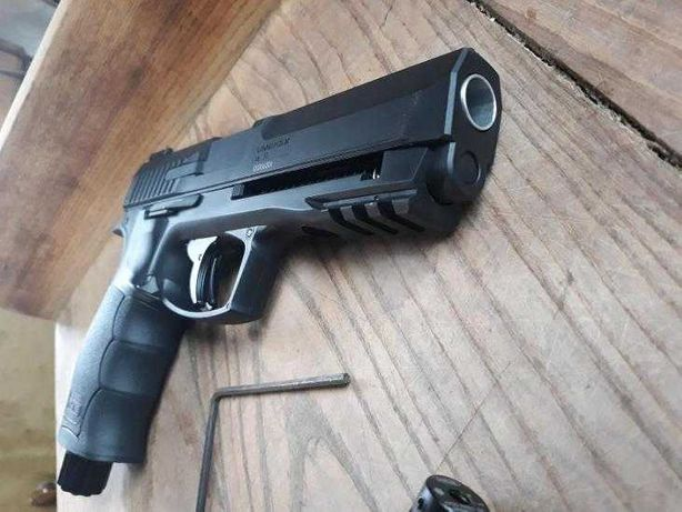 Pistol Airsoft UMAREX=>Bile Cauciuc/20jouli/Auto-Aparare Co2
