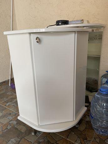 Мебель для ванной, шкаф угловой, зеркало
