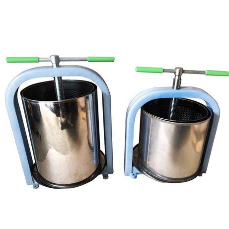 Teasc/Presa pentru struguri din inox 10,15,20,25 litri