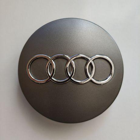 Капачки за джанти за Ауди A3 A4 A5 А6 A7 Q3 Q5 Q7 сиви черни 60/69мм