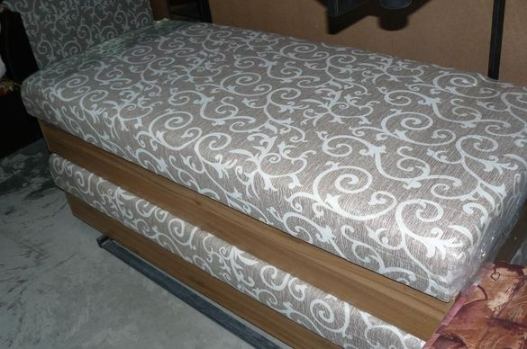 Единично легло с матрак 82/190см с повдигащ механизъм