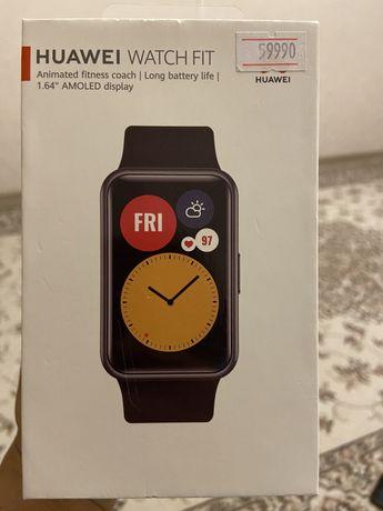 Продам смарт часы Huweii Watch Fit
