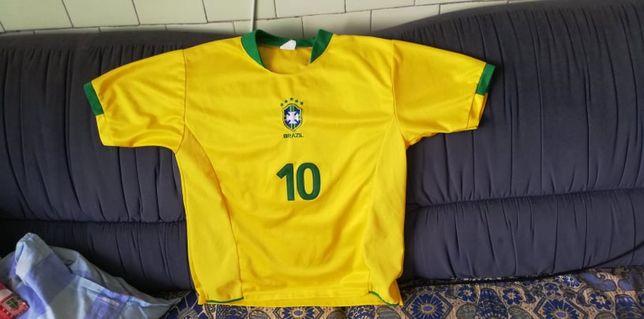 Tricou Brazilia RONALDINHO 10 {Foarte Rar}