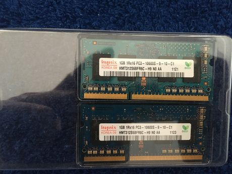 MAC MEMORY 2x 1GB 1333 MHz DDR3 SDRAM (PC3-10600)