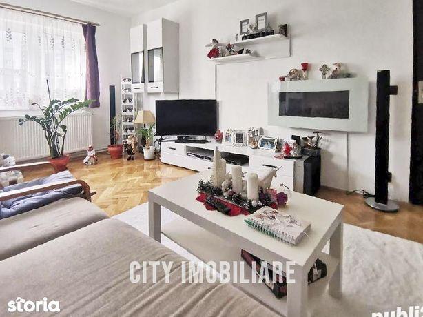 Apartament 4 camere, S79 mp + balcon, etaj 4\/10, Manastur