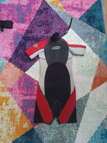 Costume neopren sporturi nautice, inot, scuba, rating copil