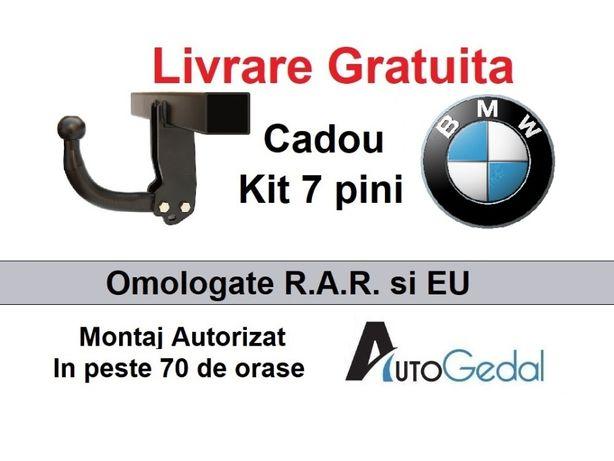 Carlig Remorcare BMW X3 E83 2004-2010 Livrare Gratuita - Omolgat RAR