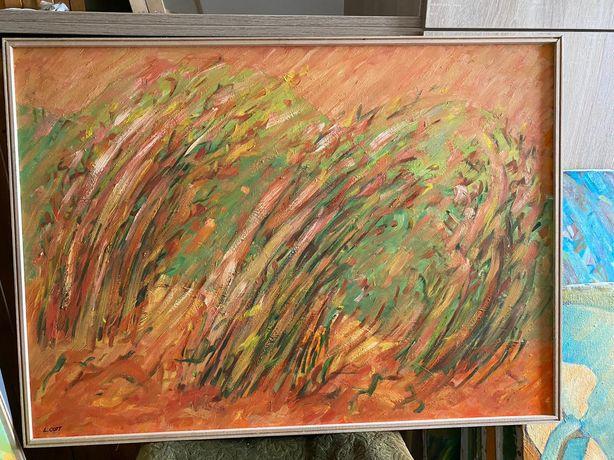 tablou - pictura abstracta - artist Lia Cott