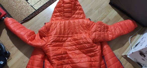 *ПРОМО* мъжко неоново зимно яке (оранжево)