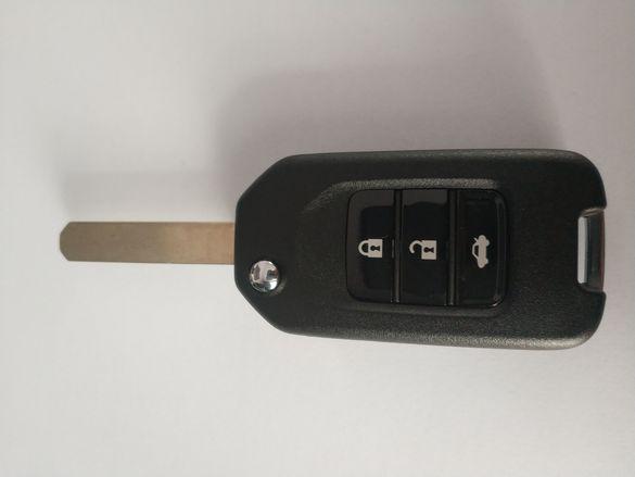 Модифициран качествен ключ Honda CRV,Jazz,Fit,Civic 7,Element PCF7946