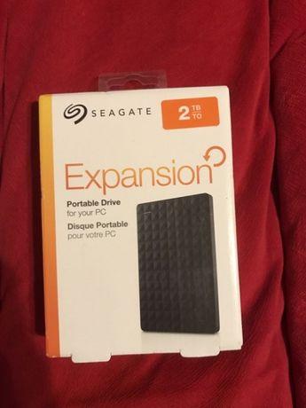 Seagate Expansion 2tb Hard disk extern portabil hdd 2tb NOU sigilat