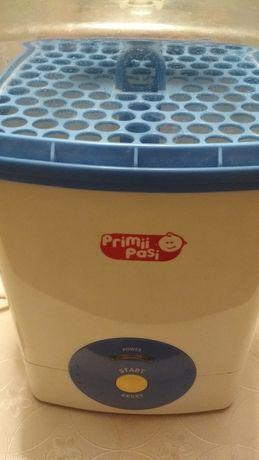 Sterilizator electric Primii pași