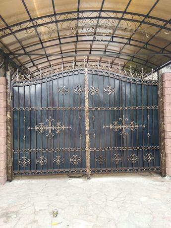 Навесы ворота перила беседки оградки сварка