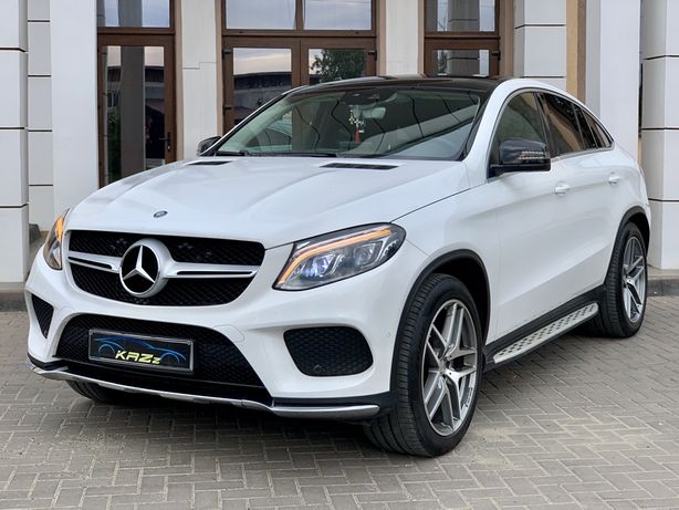 Mercedes-Benz GLE 350 Coupe AMG 258CP 9G-tronic 4Matic AirMatic 2016