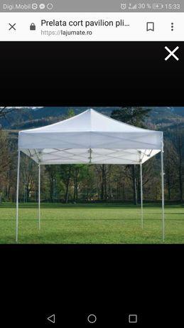 Prelata cort pavilion pliabil 3×3