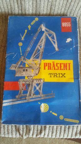 Set constructie vintage metalic  Trix 8955