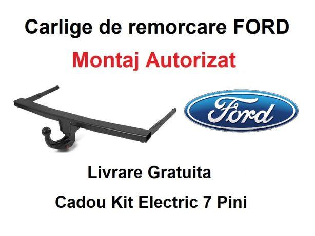 Carlig Remorcare FORD Transit Van 2000-2013 Livrare Gratuita-Omologat