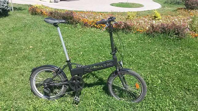 Bicicleta electrica pliabila Soho.