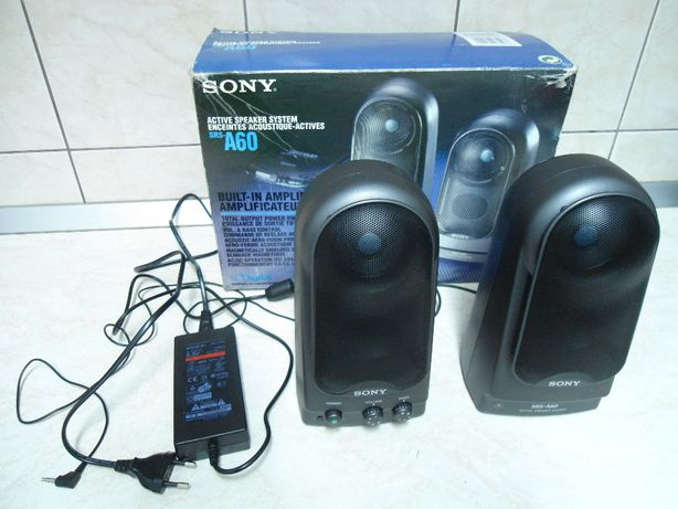 Boxe Active Sony SRS - A60, made in Japan