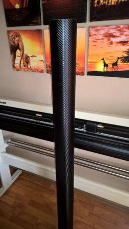 Autocolant carbon 3D negru (1.27m x 1m)
