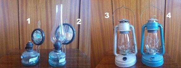 Автентични газени лампи и фенери