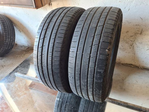 2 бр. гуми 235/60/18 Pirelli 5 mm DOT 1017