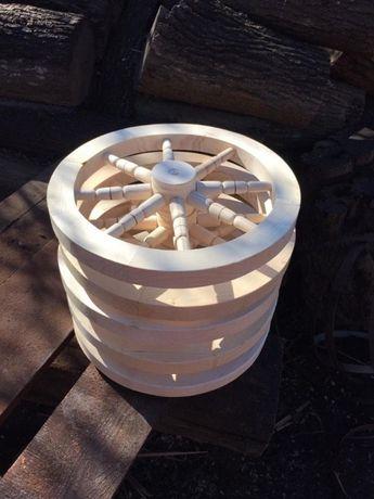 Roata din lemn - roti din lemn pentru terasa