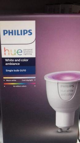 Bec Philips Hue GU10 nou, sigilat