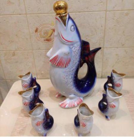 Рыбки.Лекеро-водочный набор.Советское.