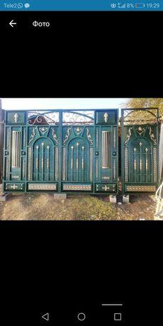 Ворота и двери, Решётка и д. р.