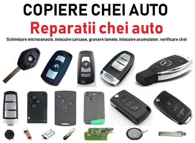 Microcontacte /Bobine/ Componente Chei / Telecomenzi auto - Reparatii