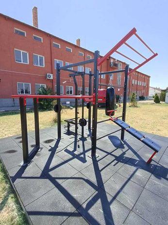 Проектиране и изграждане на спортни площадки на открито