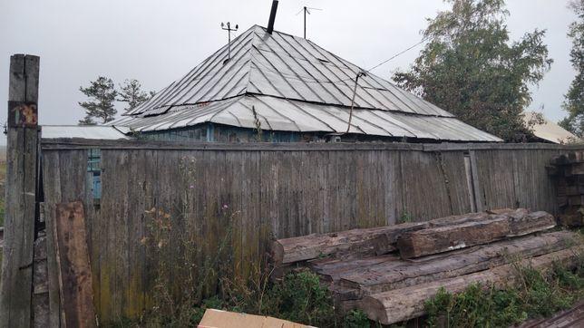 Продам дом деревянный в селе Бобровка
