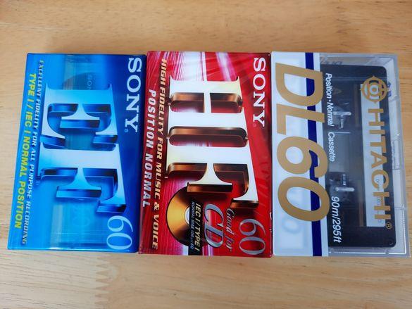 Аудио касети Hitachi, Sony нови