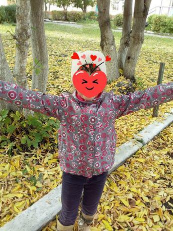 Осень на девочку
