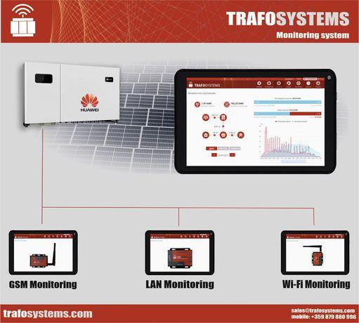 Мониторинг за инвертори Huawei