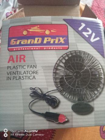 Ventilator auto cu suport de prindere