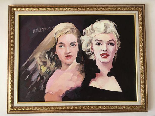 Продам портрет Мерилин Монро. Портрет собственного изготовления