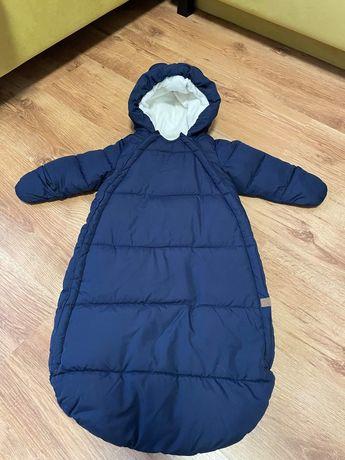 Salopeta (sac) iarna h&m 62-68 cm