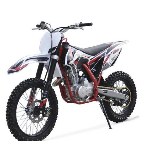 Motocicleta Moto Cross Dirt Bike Enduro 125cc Adulti, Full, Garantie