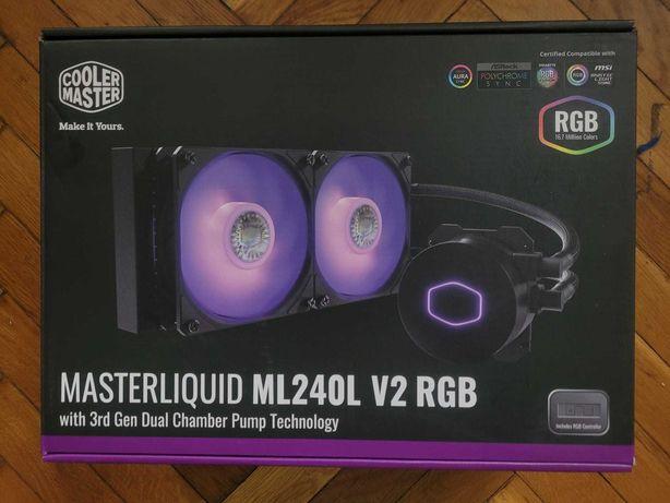 Cooler Procesor/CPU MasterLiquid ML240L V2 RGB (racire lichid)