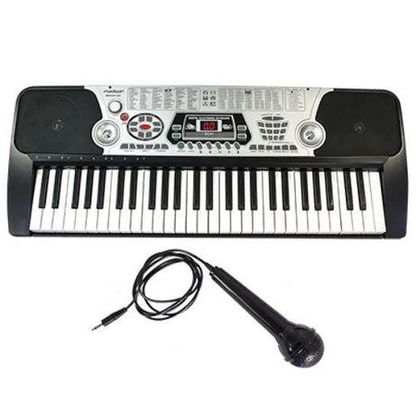 Orga electrica, 54 clape, USB si microfon inclus,100 ritmuri